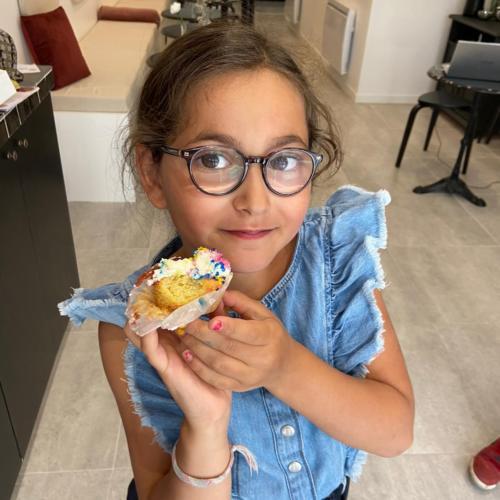 cours enfant cupcakes