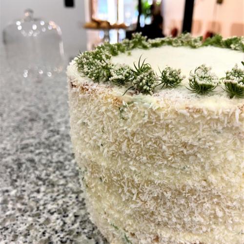 Naked cake de Noel