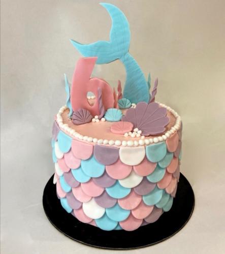 Cake design sirène